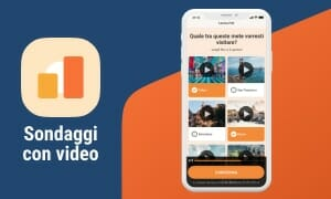 Timeline - Sondaggi con video