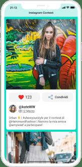 esempio concorso fotografico su instagram